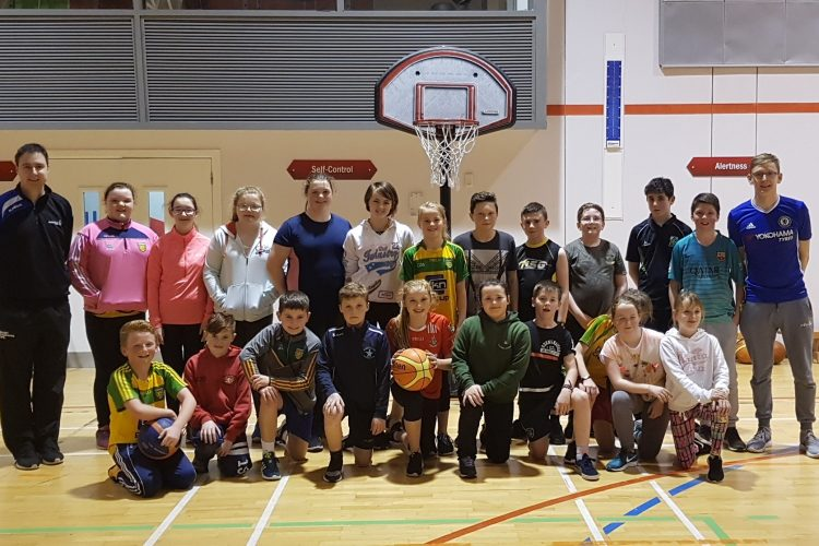 Paul Carr and Green Shoots Growing Basketball in Dungloe!